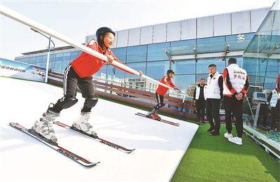 冰雪科技成果亮相冬博会延庆分会场