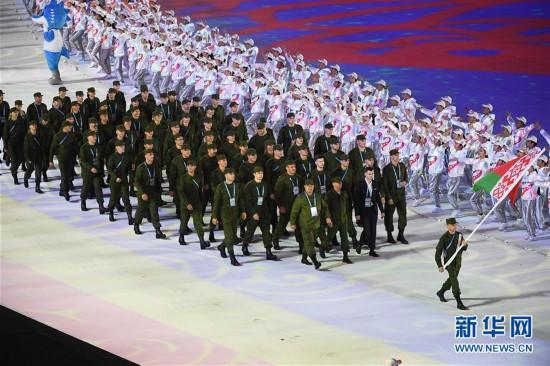 (军运会)(8)第七届世界军人运动会在武汉开幕
