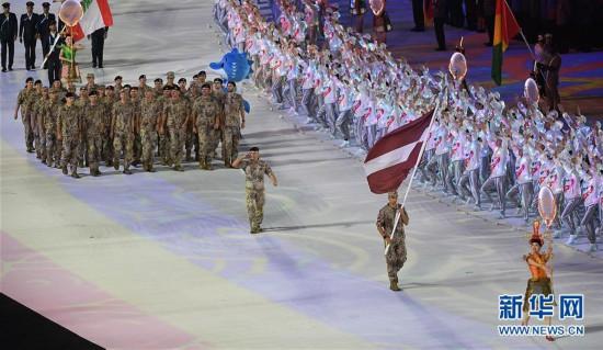 (军运会)(18)第七届世界军人运动会在武汉开幕