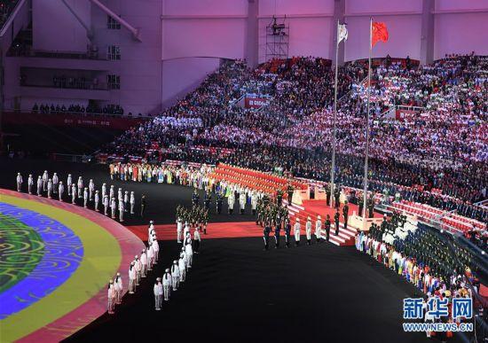 (军运会)(49)第七届世界军人运动会在武汉开幕