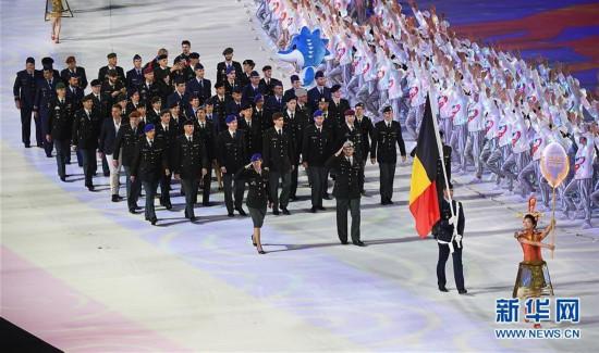 (军运会)(6)第七届世界军人运动会在武汉开幕