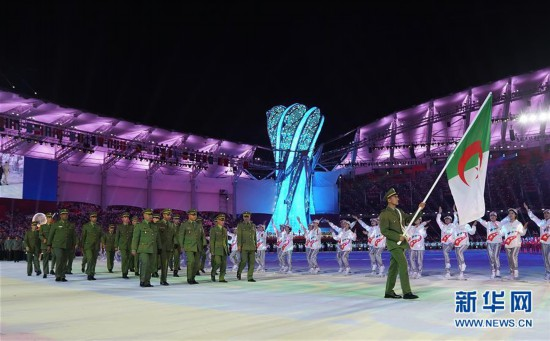 (军运会)(3)第七届世界军人运动会在武汉开幕