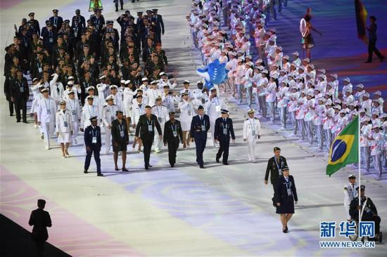 (军运会)(7)第七届世界军人运动会在武汉开幕