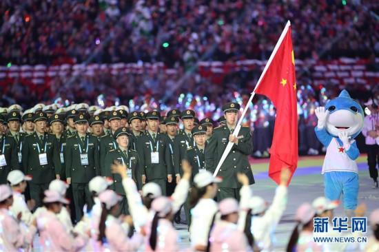 (军运会)(43)第七届世界军人运动会在武汉开幕