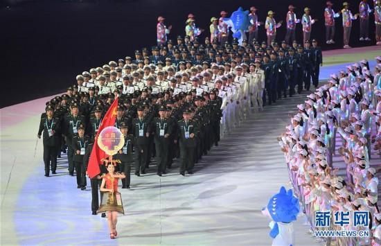 (军运会)(33)第七届世界军人运动会在武汉开幕