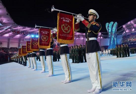 (军运会)(2)第七届世界军人运动会在武汉开幕