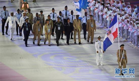 (军运会)(11)第七届世界军人运动会在武汉开幕
