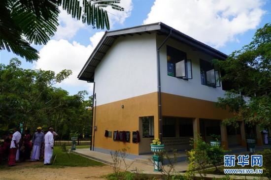 (国际・图文互动)(1)通讯:中国企业助力斯里兰卡学校提升教育梦想