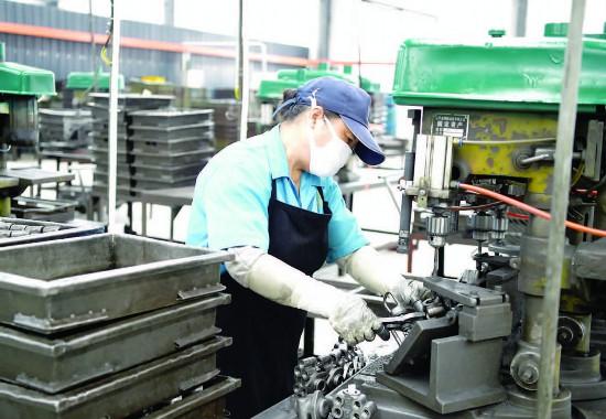 金湖縣開發區內企業全力生產確保全年目標完成