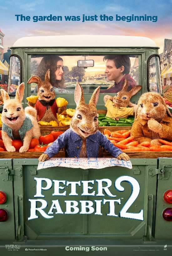 《比得兔2》上演逃跑计划 新角色加入冒险之旅