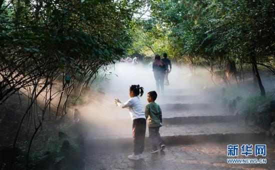 (环境)(2)江苏徐州:马陵山上景色美