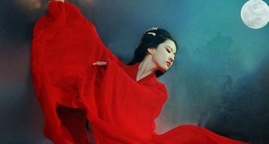 古装剧中翩翩起舞的女星 刘亦菲美出新高度
