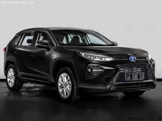 广汽丰田全新SUV威兰达实拍下月发布搭2.5L混动