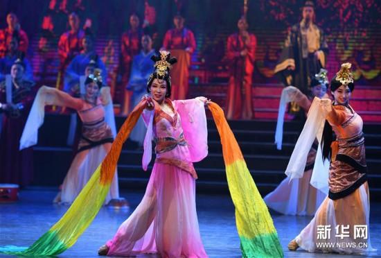 汉韵情形剧《汉风飞扬》在徐州公演