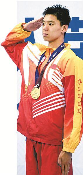 男子400米自由泳决赛,季新杰强势夺冠