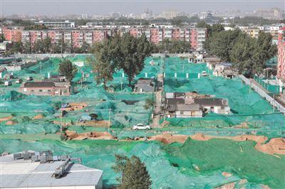 望坛棚改项目发现明清时期墓葬