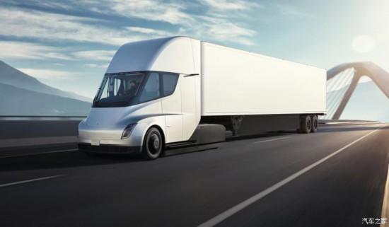 特斯拉将于2020年生产Semi卡车