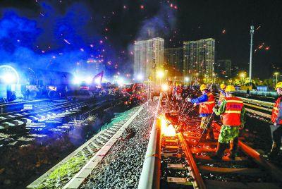 八通线南延拨线工程今天凌晨启动 土桥至果园间4座车站停运