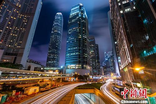 资料图:香港中环。 <a target='_blank'  data-cke-saved-href='http://www.chinanews.com/' href='http://www.chinanews.com/'><p  align=