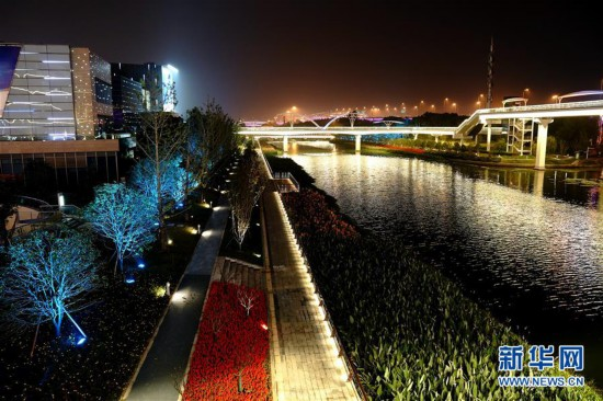 (社会)(2)上海快三开奖彩控_苹果APP怎么下载快三主页-海:流光溢彩迎接第二届进博会
