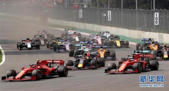 (体育)(8)赛车――F1墨西哥大奖赛:汉密尔顿夺冠