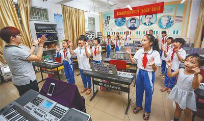 海口:点燃农村孩子的音乐梦想