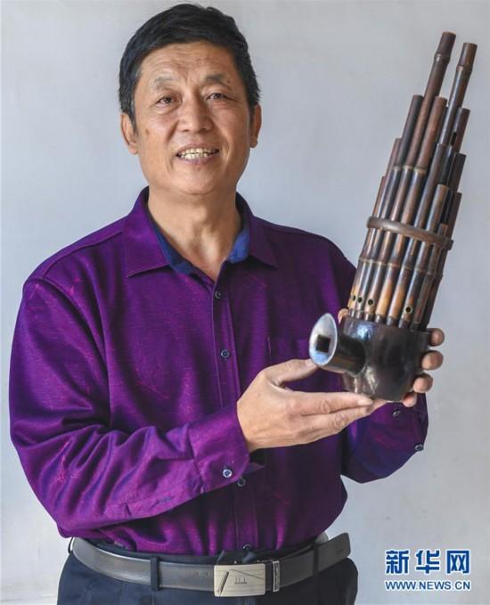 (文化)(3)河北景县:传统制笙工艺薪火相传