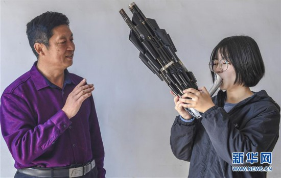 (文化)(1)河北景县:传统制笙工艺薪火相传