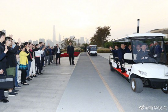 習近平在上海考察調研