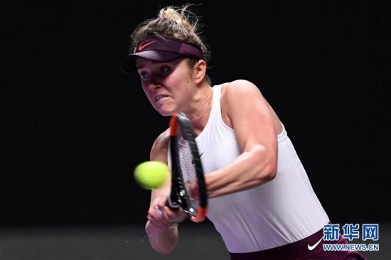 (體育)(21)網球——WTA年終總決賽:巴蒂奪得單打冠軍