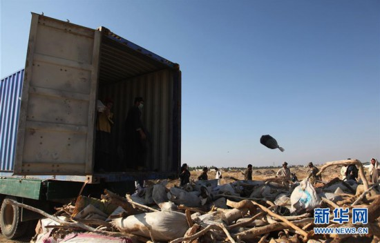 (国际)(1)阿富汗销毁约28吨毒品