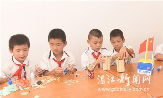 湛江市加强乡村学校少年宫建设