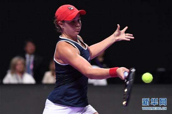 (體育)(16)網球——WTA年終總決賽:巴蒂奪得單打冠軍
