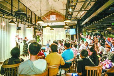 京西旧市场升级新书店 打造阅读美食运动一体化空间