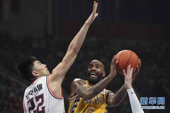 (体育)(3)篮球——CBA通例赛:辽宁本钢不敌浙江广厦
