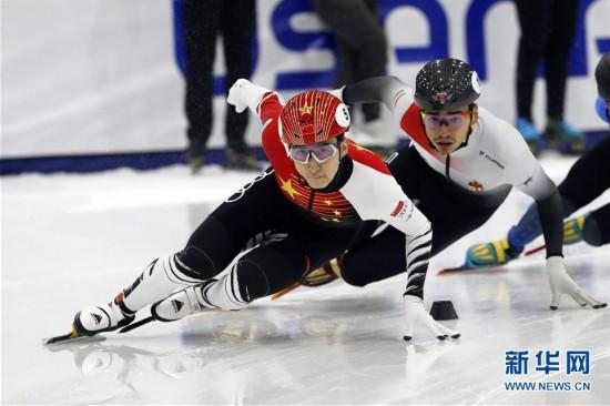 (体育)(3)短道速滑――世界杯盐湖城站:武大靖夺男子500米冠军