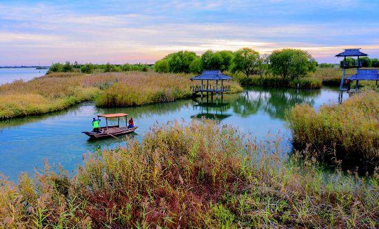 鹽城鹽都:美麗大縱湖 自在東晉城