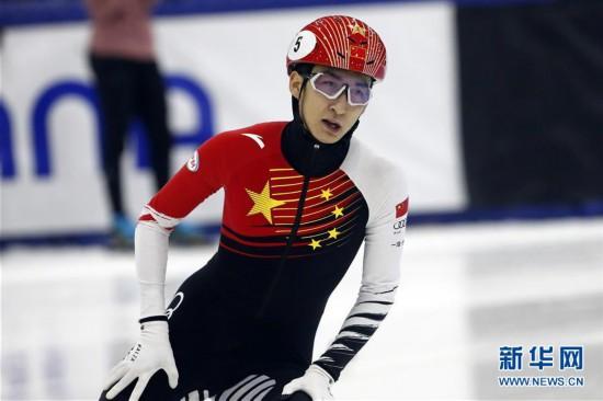 (体育)(2)短道速滑――世界杯盐湖城站:武大靖夺男子500米冠军
