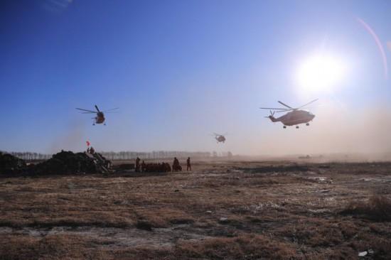 独家丨森林消防空地协同地震救援演练在大庆举行