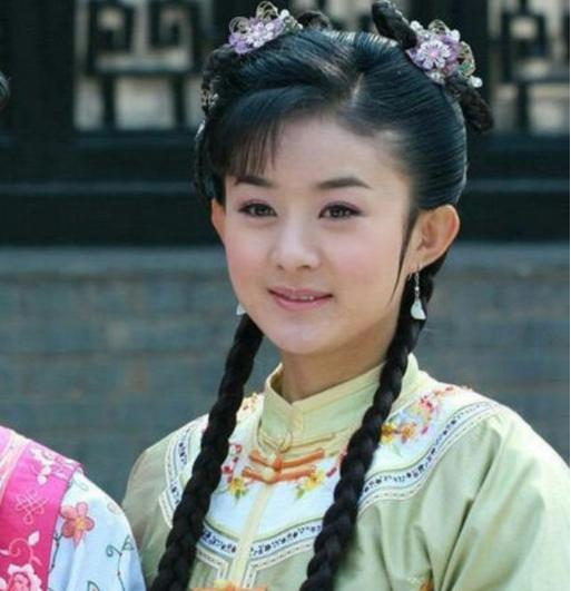 麻花辫最美的5位女星 陈瑶非常可爱