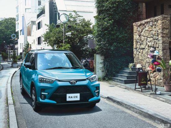 丰田(进口) RAIZE 2020款 高配