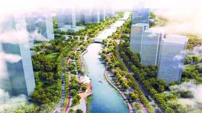 亮马河景观廊道年底完工 新建17公里慢行步道