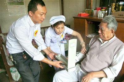 海安居家养老服务送上门 托底2.1万名老人