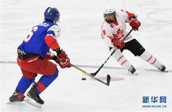 (体育)(1)冰球――北京2022冬奥会男子资格赛:中国香港胜科威特