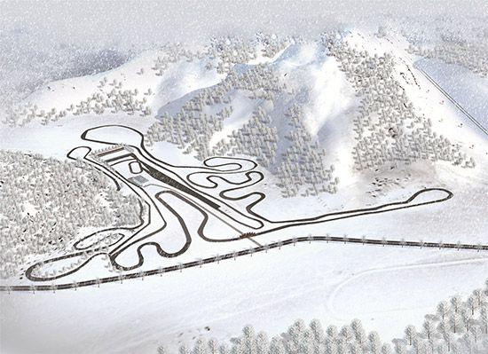 冰天雪地的场高唱清且绵景在祖国正北方随处可见