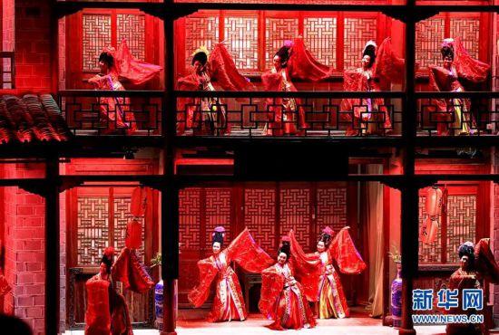 (文化)(1)《印象大红袍》助推武夷山夜间经济发展