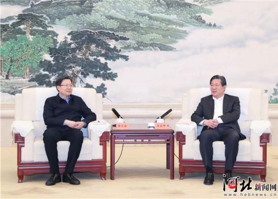 王东峰与中央一号文件贯彻落实情况第9督查组举行工作