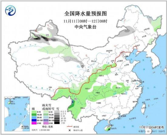 强冷空气将影响中国大部地区东北等地局部降温超12℃--土木资料网