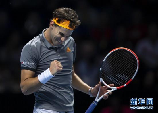 (體育)(4)網球——ATP年終總決賽:費德勒不敵蒂姆