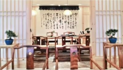 無人茶館(画像提供・周晨)。